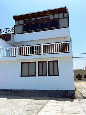 Alquiler casa amoblada con vista al playa sur san bartolo