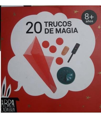Caja De 20 Trucos De Magia Abra Cadabra Gift