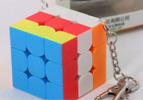 Cubo Magico Rubik Funcional Llavero Original Moyu 3x3 40mm
