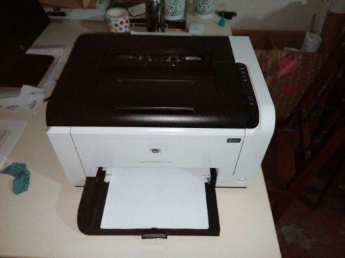 Impresora hp laserjet cp1025nw semi nueva, 475 impresiones