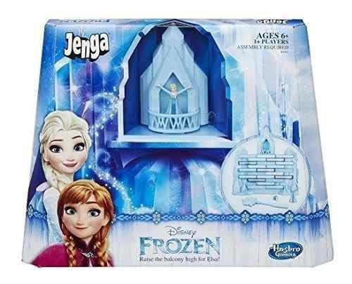 Juego De Mesa Jenga Disney Frozen Original Nuevo