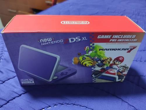 New nintendo 2ds xl incluye mario kart 7