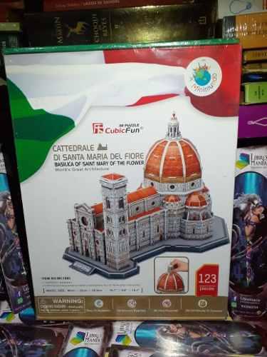 PUZZLE 3D. CATEDRAL DI SANTA MARIA DEL FIORE - ITALIA segunda mano  Arequipa (Arequipa)