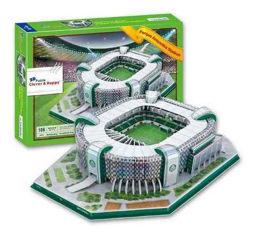 PUZZLE 3D ESTADIO PARQUE ANTÁRTICA. ROMPECABEZAS 3D segunda mano  Arequipa (Arequipa)