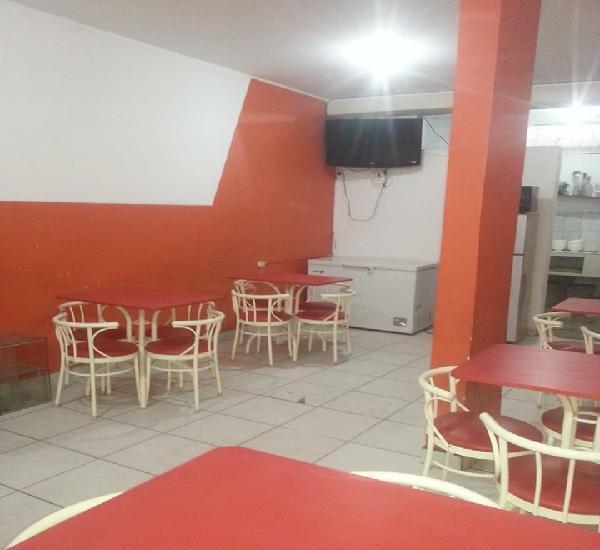 Restaurante en alquiler amoblado 800s/ incluye servicios