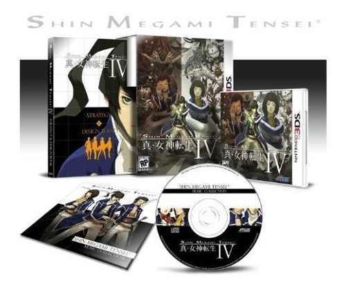Shin megami tensei iv (edición limitada) nuevo sellado