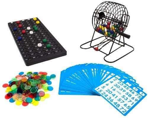 Suministros para bingo de lujo, juego de 6 pulgadas