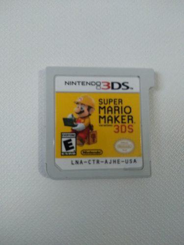 Super mario maker 3ds - solo juego
