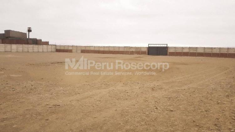 Terreno industrial - 20,000 m² - alquiler/venta