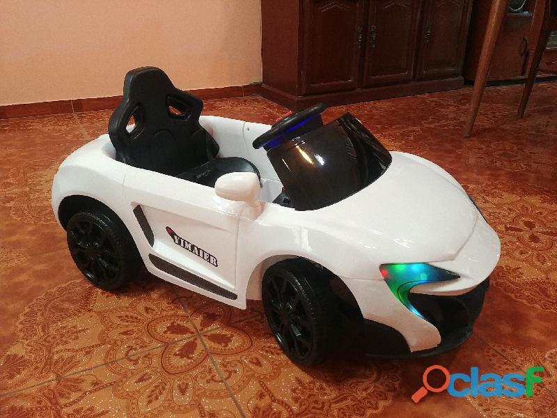 Carros lindos y coloridos a bateria para niños