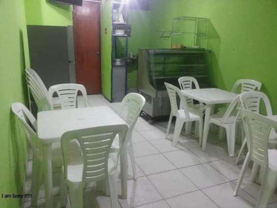 Alquilo restaurante completamente amoblado a solo s/.800 smp