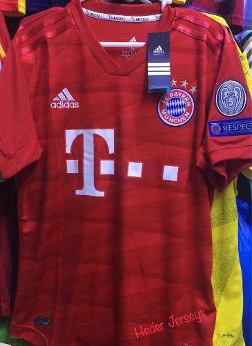 Camiseta bayern munich oficial temporada 2019 / 2020
