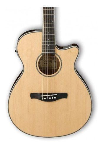 Guitarra electro acustica metal ibanez aeg8ent