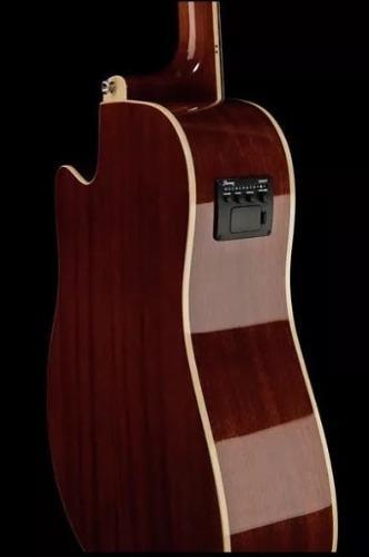 Guitarra jumbo electroacústica ibañez nueva sellada remate