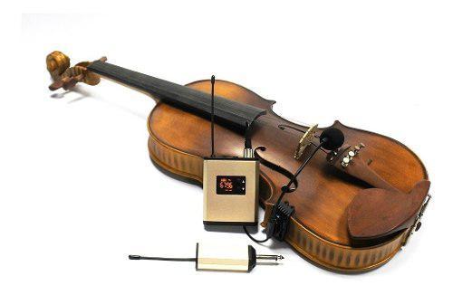 Microfono inalambrico para violin viola