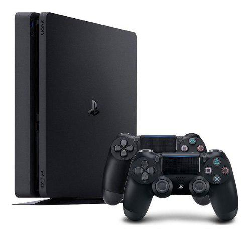 Consola ps4 pro 4k 1tb playstation 4 + 2 mandos !!