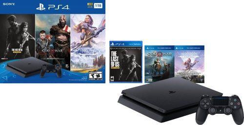 Ps4 slim 1tb consola sony playstation 4 + juegos oferta