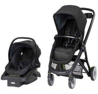 Coche para bebe travel system riva gris tr394