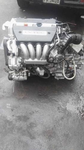 Motor y caja k24a accord crv 4x2