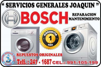 Servicio técnico ** bosch ** lavadoras, refrigeradores