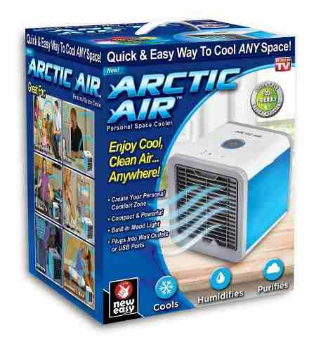 Ventilador enfriador de aire portatil arctic air