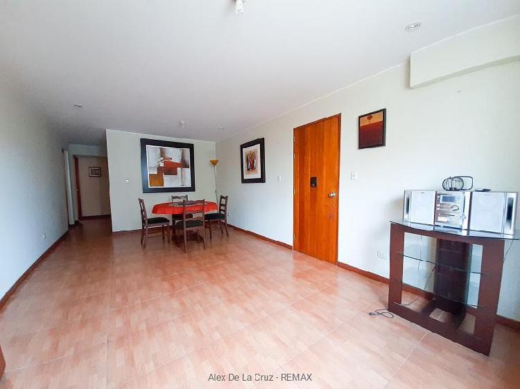 Alquiler departamento en san borja, 2do piso