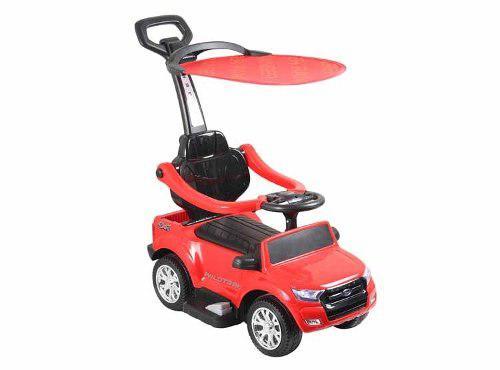 Carro niños ford ranger a bateria push car con acelerador