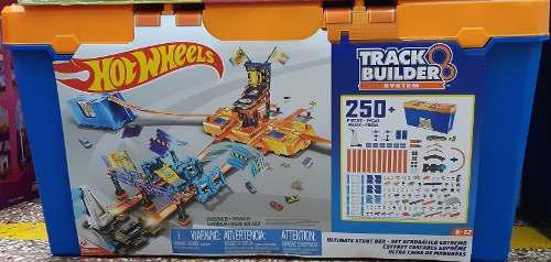 Hot wheels track builder pista acrobática 250 pza.
