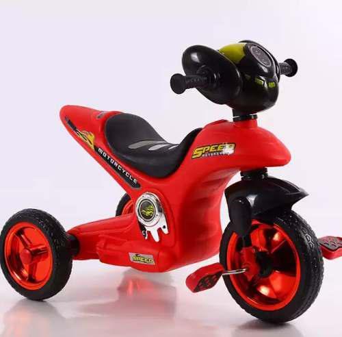 Triciclo motito moto a pedal musical para niña y niños