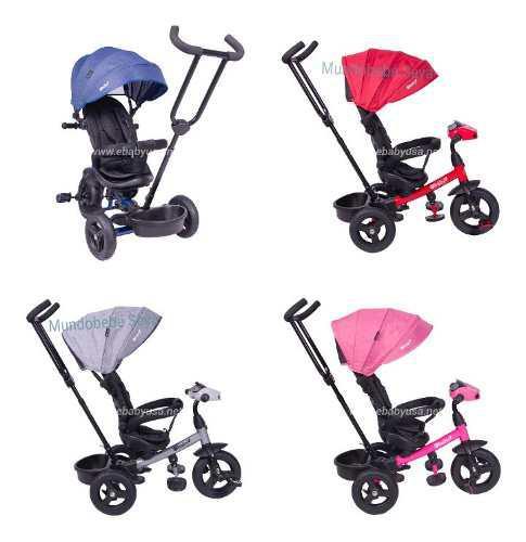 Triciclo para bebe niña niño ebaby usb bluetooth y música