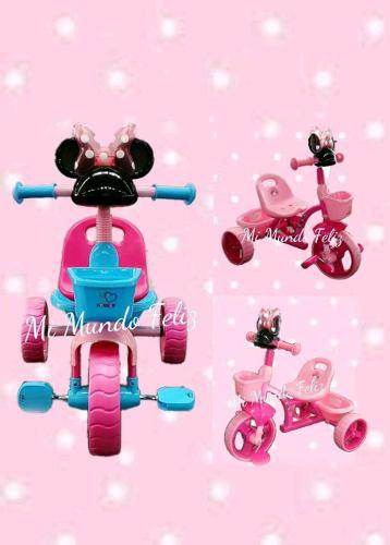 Triciclo para niñas disney minnie y minie nuevos