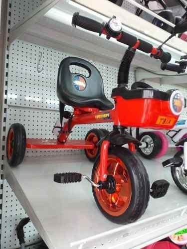 Triciclo para niños bebe acero nuevo rojo blanco rosado