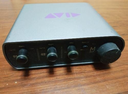 Avid mbox 3 mini - interface de audio mac/pc