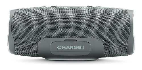 Parlante jbl charge 4 portable bluetooth 30w ipx7 gris