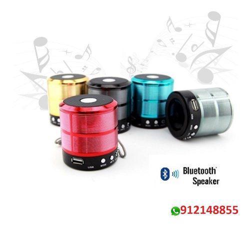 Parlante portatil speaker smart c/bluetooth + envió gratis
