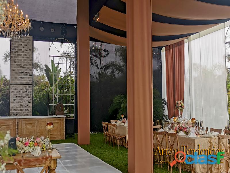 Alquiler de toldo, juegos de sala lounge, barra, mesa altas. mobiliario para eventos