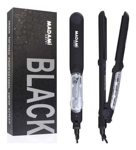 Plancha alisadora profesional cabello a vapor 110-220v