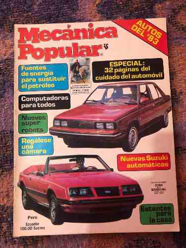 Revista mecánica popular