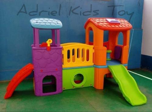 Casa club play house juegos para niños tobogan resbaladera