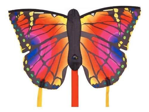 Cometa mariposa rubi pequeña h q kites u s a
