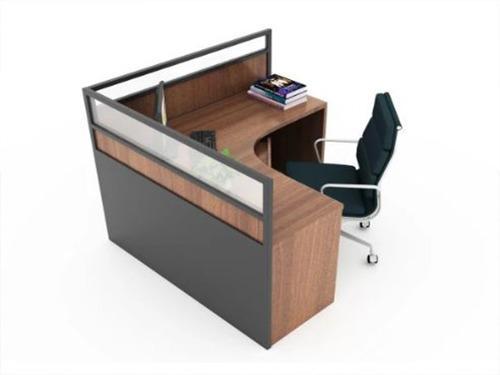 Moderno puesto ó escritorio de oficina mod. l