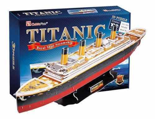 TITANIC 3D PUZZLE TAMAÑO GRANDE segunda mano  Lima (Lima)