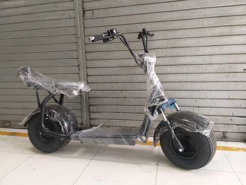 Moto scooter electrico eléctrica nuevo oferta chopper
