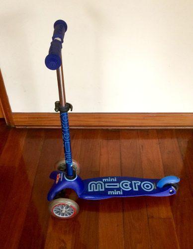 Scooter mini micro deluxe azul