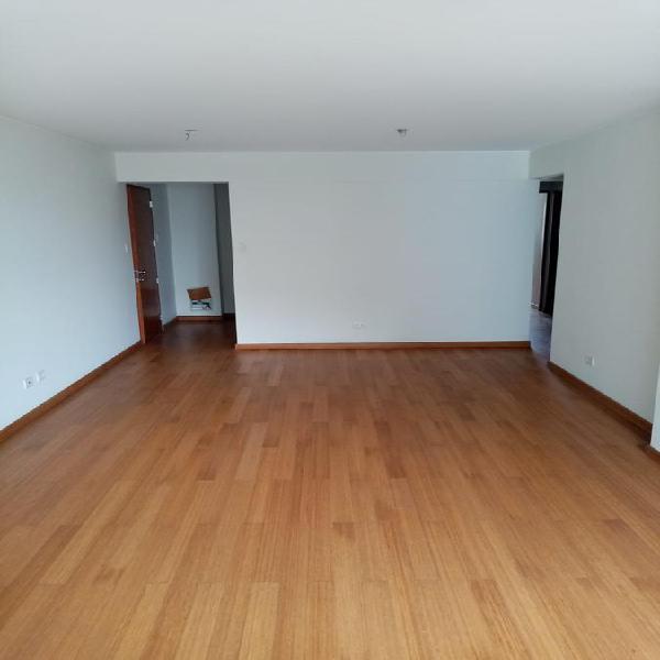 Departamento de estreno en san isidro flat 114 m²