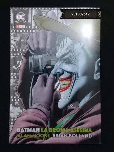Comic batman: la broma asesina (edición deluxe extendida)