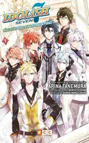 Manga idolish seven trigger tomo 01 - ecc