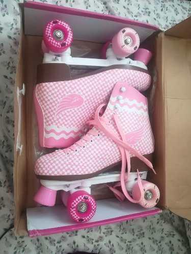 Patines quad roller skate talla 39 marca hondar