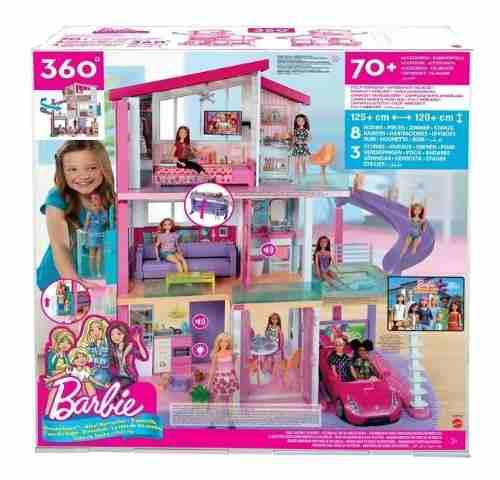 Barbie mega casa de los sueños 3 pisos original