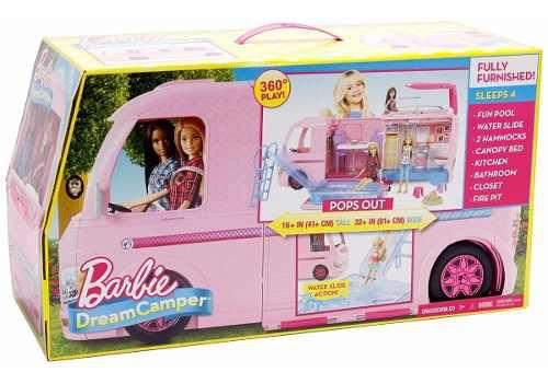 Camper de la barbie original carro camper de lujo de mattel